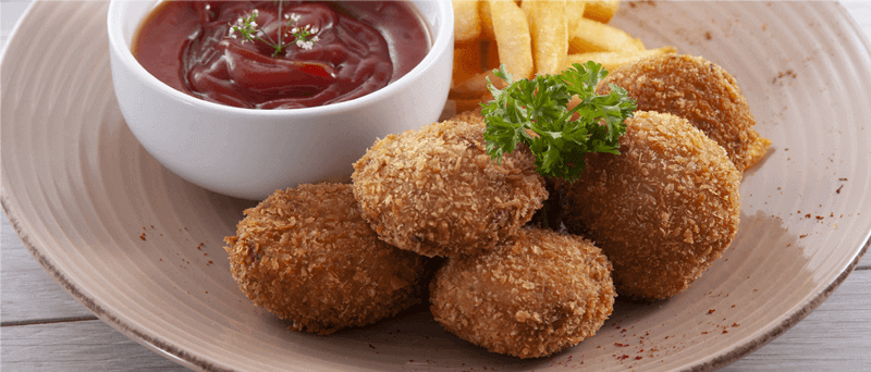 Snacks de atún saludables para niños